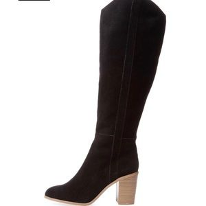 Seychelles Shoes - 💖Seychelles💘black Disclose tall suede boots